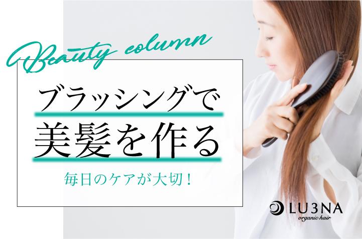 毎日のケアが大切!意外と知らない正しいブラッシングで美髪を作ろう〈東大阪 布施 少人数美容室 ルミナ〉